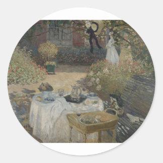 昼食会(1873年) ラウンドシール