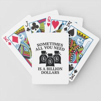 時々あなたが必要とするのは十億ドルだけです バイスクルトランプ