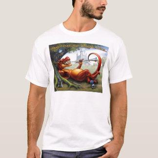時々ドラゴンの勝利 Tシャツ