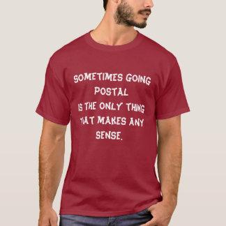 時々唯一のthingthatが…作るgoingpostalis tシャツ