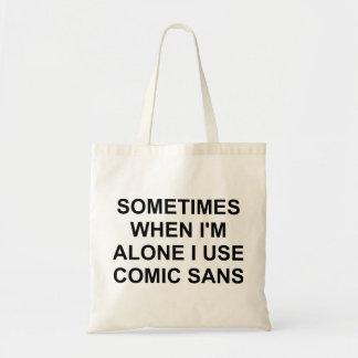 時々漫画Sans トートバッグ