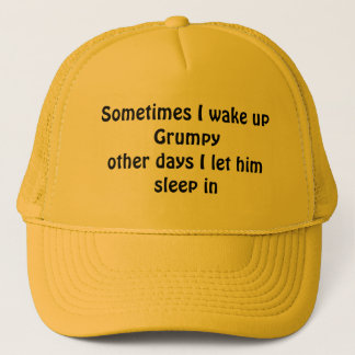 時々私は気難しい目覚めます キャップ