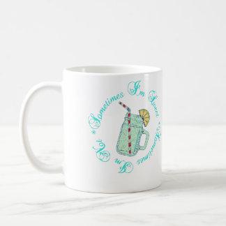 時々私は甘いです私時々ありません コーヒーマグカップ