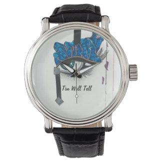 時が来ればわかる 腕時計
