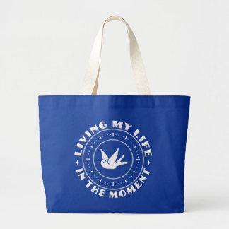 時のカスタムなバッグで-スタイルを選んで下さい ラージトートバッグ