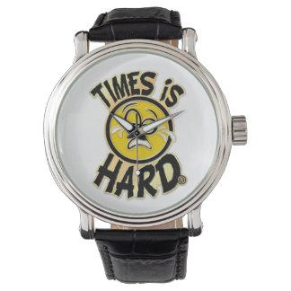 時は堅い腕時計です 腕時計