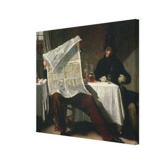 時を待っています、1831年(キャンバスの油) キャンバスプリント