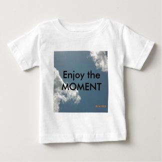 時を楽しんで下さい ベビーTシャツ