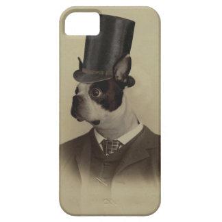 時代のボストンビクトリアンなテリア iPhone SE/5/5s ケース