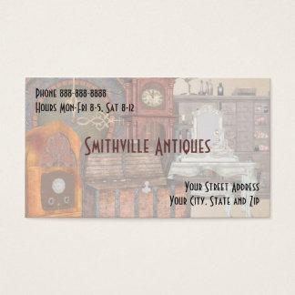 時代物の家具の店の名刺 名刺