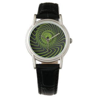 時空のブラックホールの外国の腕時計 腕時計