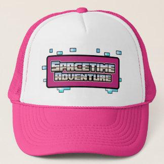 時空の冒険の帽子-ピンク キャップ