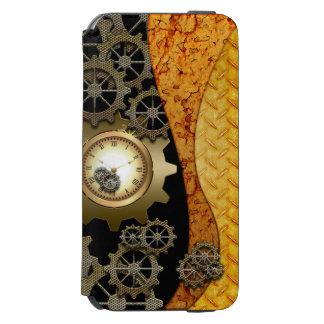 時計およびギアとの素晴らしいsteampunkのデザイン incipio watson™ iPhone 6 財布ケース