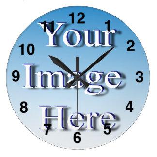 時計のイメージのテンプレート ラージ壁時計