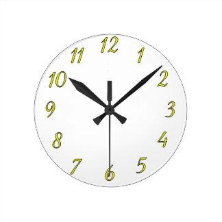 時計のテンプレート0046 ラウンド壁時計