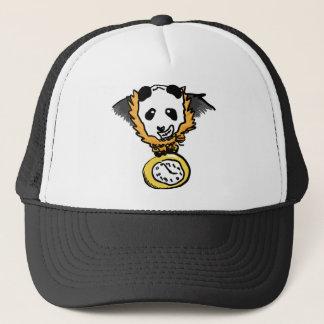 時計のパンダの帽子 キャップ