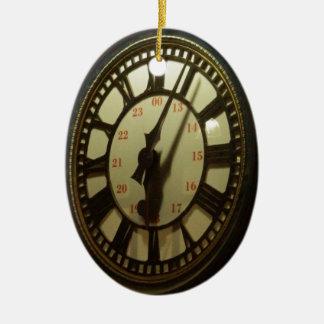 時計の下で会って下さい セラミックオーナメント