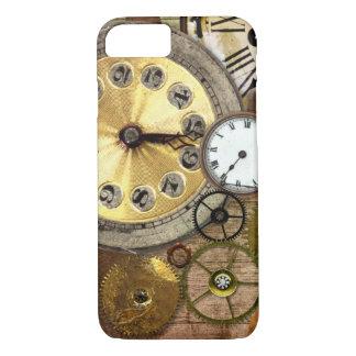 時計の錆ついた古いSteampunkの芸術 iPhone 8/7ケース