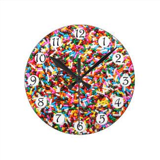 時計を振りかけます ラウンド壁時計