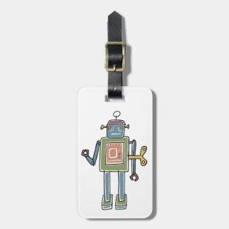 時計仕掛けのロボット ラゲッジタグ