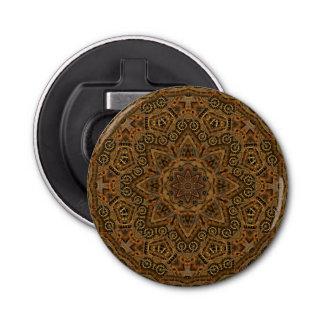 時計仕掛けの万華鏡のように千変万化するパターン磁気栓抜き 栓抜き