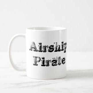 時計仕掛けの飛行船の海賊Cofeeのマグ コーヒーマグカップ