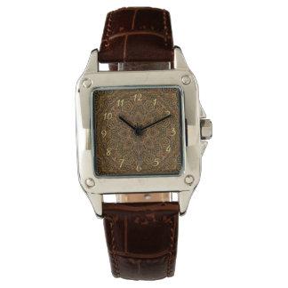 時計仕掛けのSteampunkのヴィンテージ女性用腕時計 腕時計