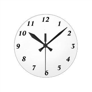 時計12数テンプレート ラウンド壁時計