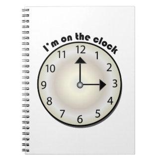 時計 ノートブック