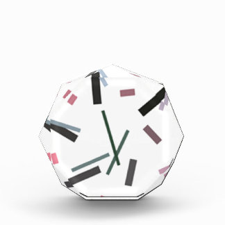 時計 表彰盾