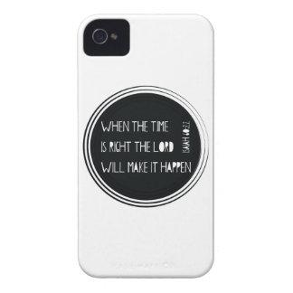 時間が右である時 Case-Mate iPhone 4 ケース