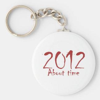 時間についての2012年 キーホルダー