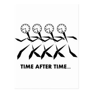 時間のイディオムシリーズ-度々 ポストカード