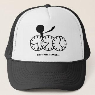 時間のイディオムシリーズ- Behingの時間 キャップ