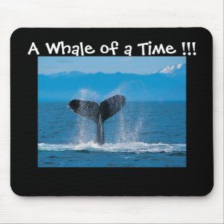 時間のクジラ!!! マウスパッド