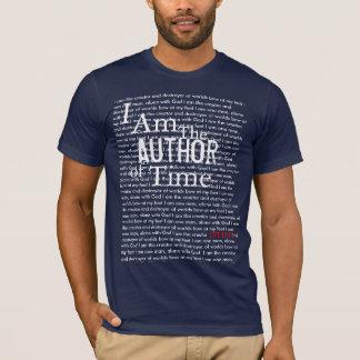 時間の作家 Tシャツ