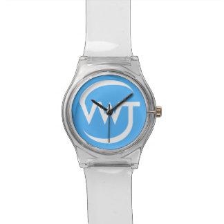時間の旅行者の腕時計(白い) 腕時計