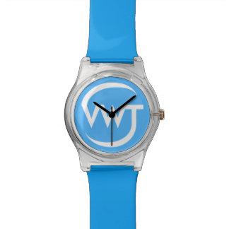 時間の旅行者の腕時計(青い) 腕時計