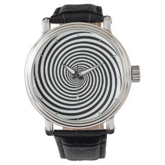 時間の曲がる催眠の螺線形 腕時計