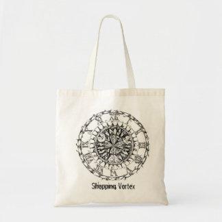 時間の渦の再使用可能な買い物袋 トートバッグ