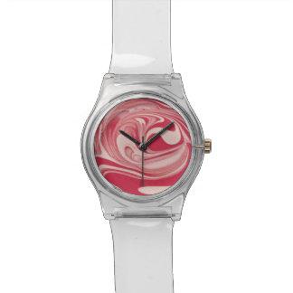 時間の渦巻 腕時計