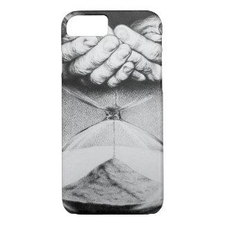 時間の砂時計の超現実的なスケッチのiPhone 7の場合 iPhone 8/7ケース