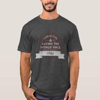 時間の英雄 Tシャツ