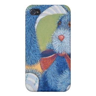 時間の青いバニー iPhone 4/4S ケース