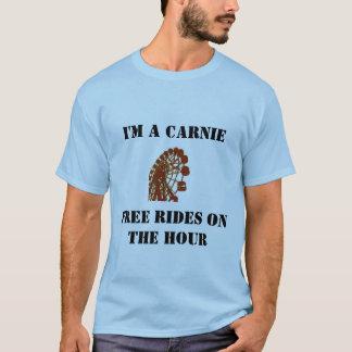 時間のCarnieの…乗車 Tシャツ