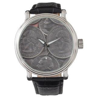 時間はお金です 腕時計