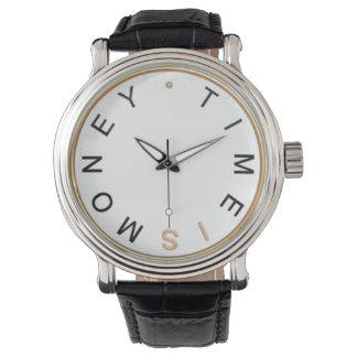 時間はお金の腕時計です 腕時計