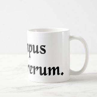 時間は事のdevourerです コーヒーマグカップ