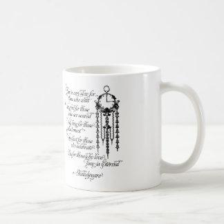 時間は永遠のマグ、シェークスピアの引用文です コーヒーマグカップ