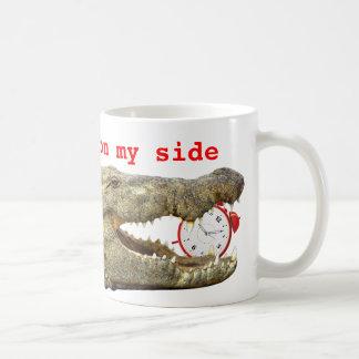 時間は私の側面にあります コーヒーマグカップ